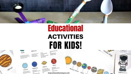 Educational Activities for Kids!