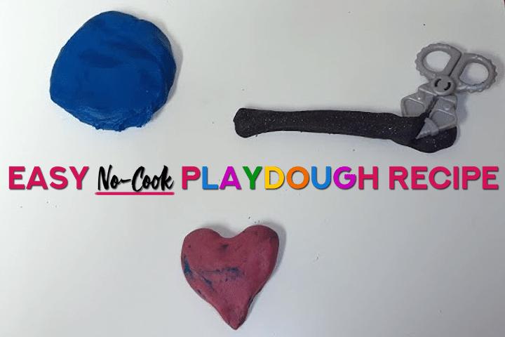 Playdough Recipe: The Best No-Cook Playdough Recipe