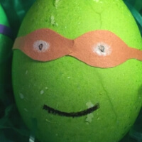 How to Make Ninja Turtle Easter Eggs