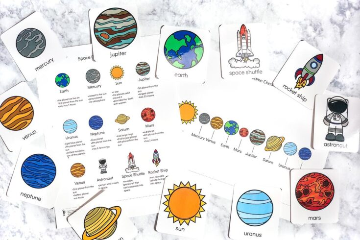 Teach The Solar System For Kids With This Fun Flashcard Game