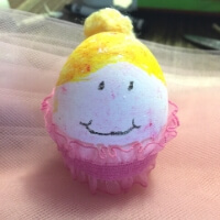 Easter Egg Ballerina