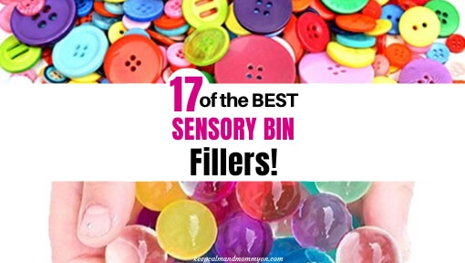 17 of the Best Sensory Bin Fillers