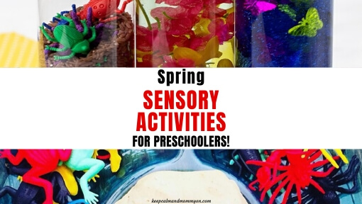 Spring Sensory Activities for Preschoolers & Toddlers