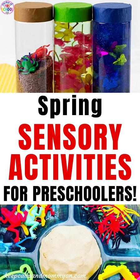 Spring Sensory Activities for Preschoolers