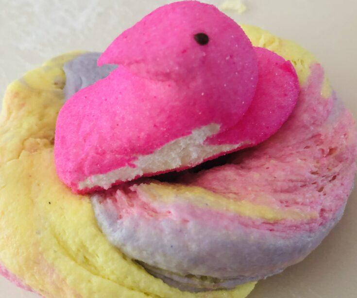 Fun Recipe for Easter Peeps Edible Slime