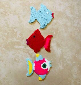 Perler Bead Sea Animals