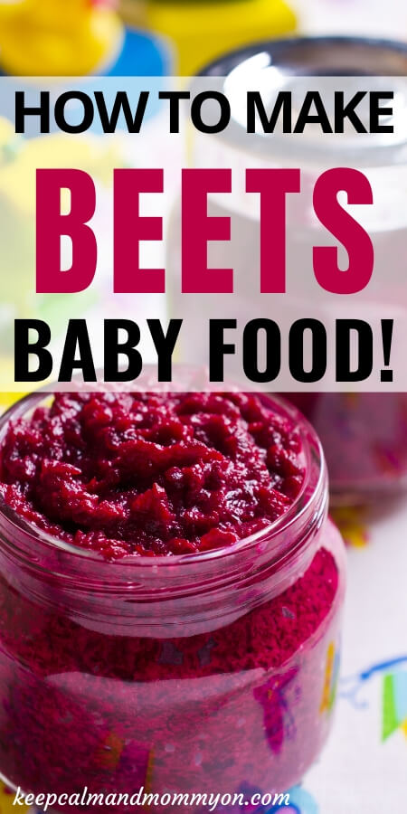 Beets Baby Food