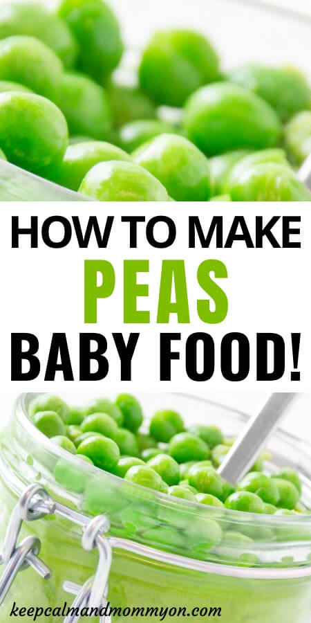 Peas Baby Food