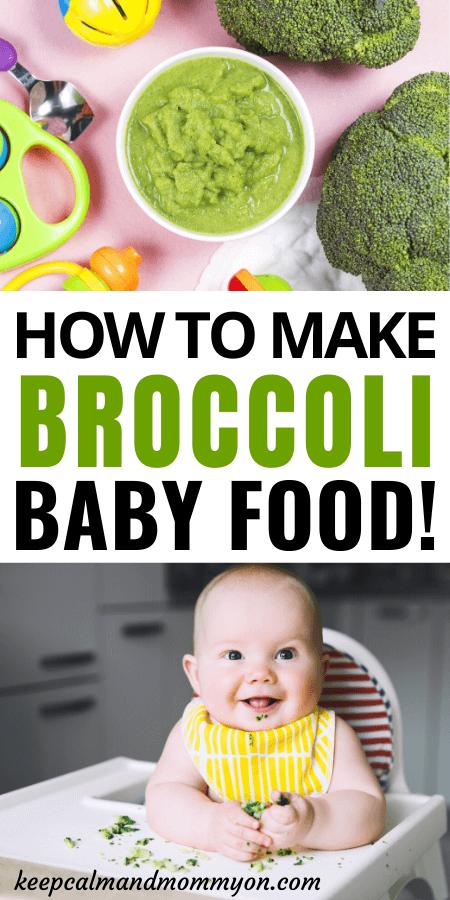 Broccoli Baby Food