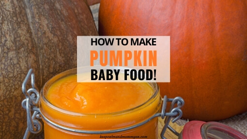 How to Make Pumpkin Baby Food